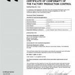 CE Renewal Certificate